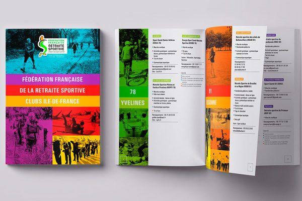 Design graphique : Fédération Française de la Retraite Sportive