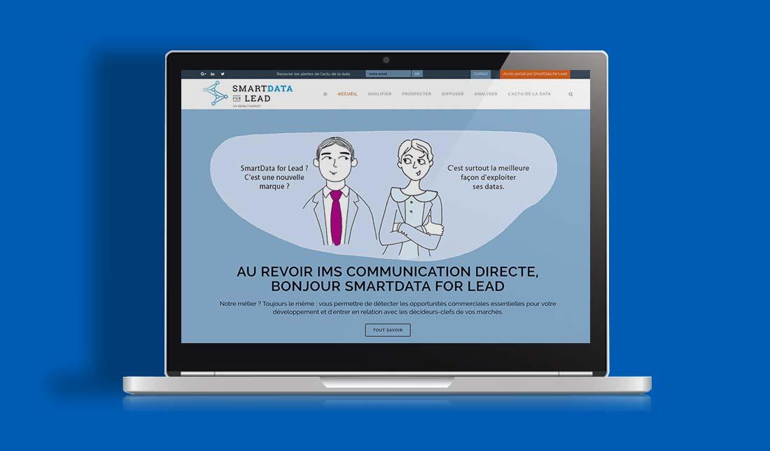 Site internet SmartData For Lead