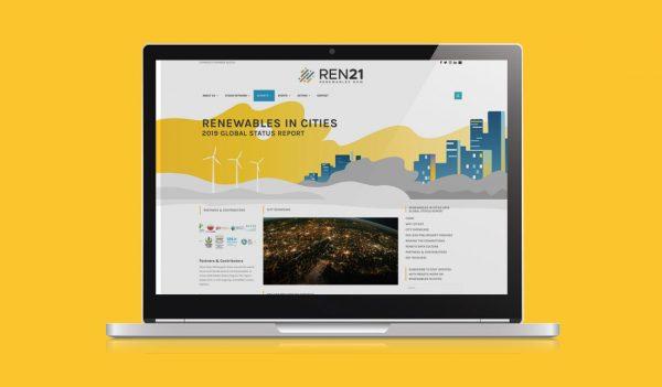 Site internet Global Status Report in Cities Ren21