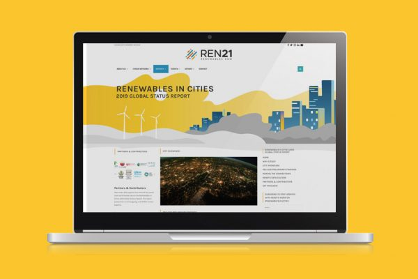 Site internet Global Status Report in Cities Ren21