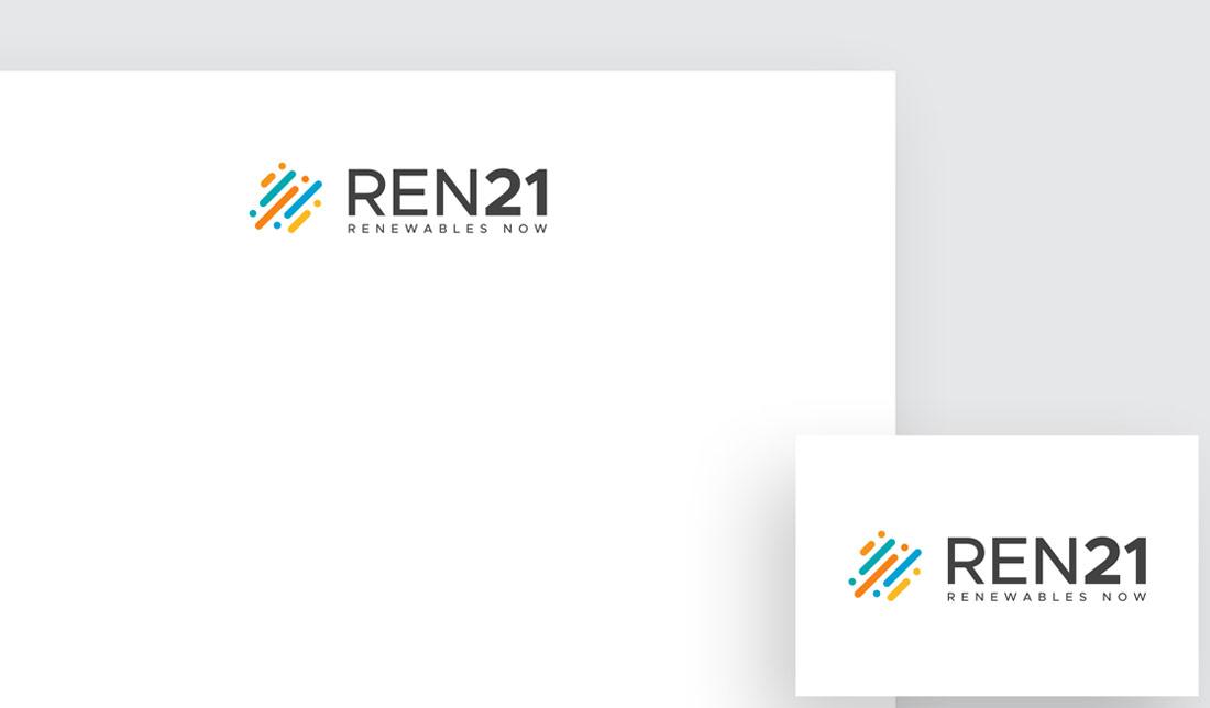 Identité visuelle et logo Ren21