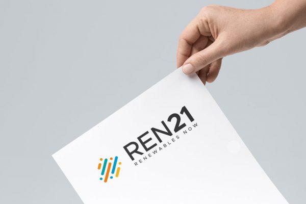 Logo Ren21 : une création Lab Compagnie