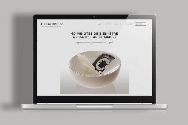 Site Internet Olfadoses