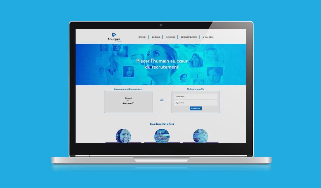 Site Internet Anvergure Lab Compagnie